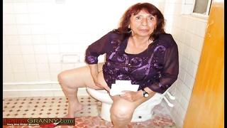 Latinagranny closeup granny compilation