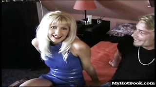 Cindy Kay and Shelly Elson are two gorgeous blondes who are bisexual. Youll