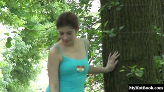 Elena Gilbert is a beautiful brunette that loves walking around in nature while