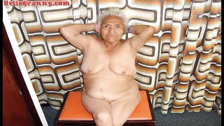 Nude granny pics compilation
