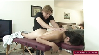 Tranny Alexa Scout gets her ass pounded