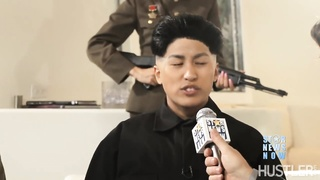 WTF  Kim Jong un has a vagina  Dennis Rodman fucks it  Wild orgy follows
