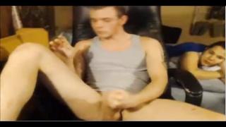Hot Young Str8 Redneck Boy Busts a Nut