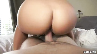 Astonishing sweetie is pounding hard on precisely the couch