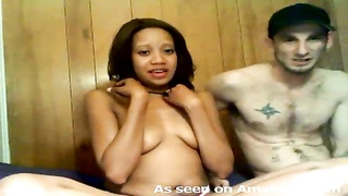 283639My attractive black ex is drinking and hooking up on webcam