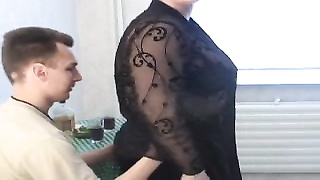 285233Big Beautiful Woman Russian milf is having a advanced sex with a skinny young man