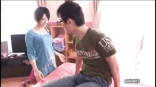 Finest Chinese nymph with enjoyment giving head in 69 position