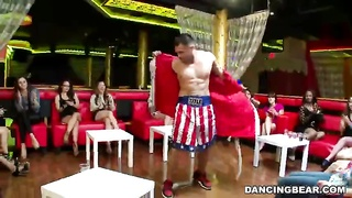 Cock-loving beginner milfs and teens in exactly the episode by Dancing Bear