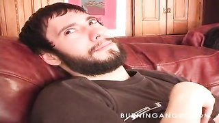 Female is in a position to do it all for her young guy in newbie emo porn