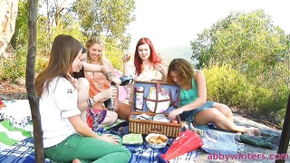 Abby Winters pleaded her sisters to get nude for a biggest shot!