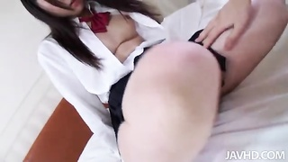 Close-up POV sex with exclusively harmless Chinese streetwalker