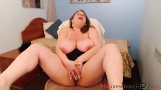 Amazing classy MILF Mariah Monroe with huge H cup boobs only in housewiveshd.com