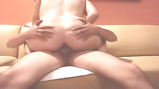 Sharing amateur slut wife. Mexican anal ride_240p