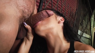 Anal Slut, Adriana Checkik plowed in the ass