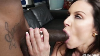 Lusty Babe Kendra Lust gets her pussy filled by big black cock