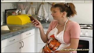 extreme horny pregnant houswife