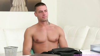 Xxx brown-haired woman is training this stud the way to hook-up correctly