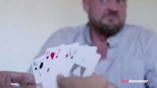 Dillion Harpers FathersDay Stipe Poker Tease