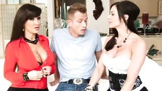 Kendra + Lisa - Milf Double-Team Threesome