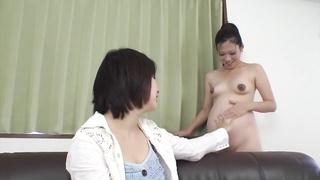 Fabulous Japanese gal Ai Nashi in Incredible JAV uncensored Gang Sex flick