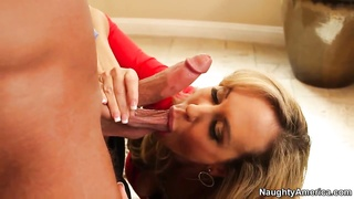 Seduced by a cougar. Looking Bill Bailey and Brandi Love.