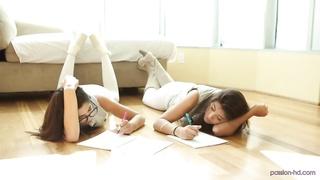 Natalie Monroe & Ava Taylor. Studious Prostitutes - Hobby HD