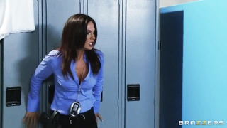 Jessica Jaymes is getting laid in precisely the locker building