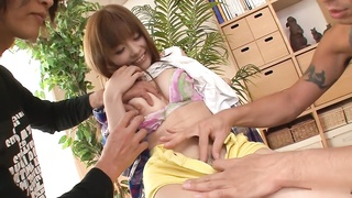 293688Hottest Japanese sweetie Anri Sonozaki in Fabulous JAV uncensored Threesomes episode