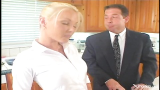 294582Sensual and sexy nanny is getting your hands on fucked by a businessman