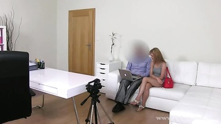 Greatest young sweetie is playing with her shaved twat with enjoyment