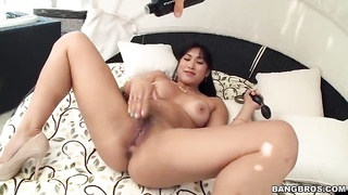 Chinese whore is loving his ebony pipe in precisely the flick by exactly the Monsters Of Dicks