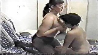 Homemade Russian milfs are having with young female an attractive lesbian sex