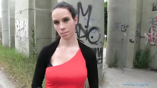Hot big-breasted prostitute is being penetrated enjoy never before