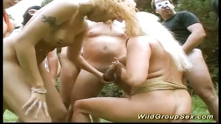 299070german outdoor groupsex party orgy