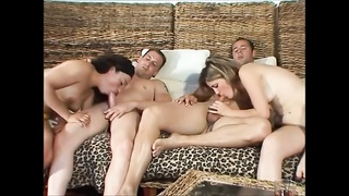 The last time we had foursome at home was fucking enjoyable - SexyCams777.com