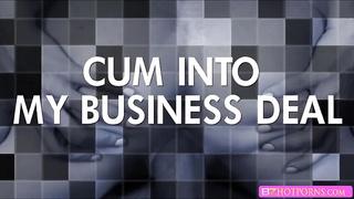 Blonde slut Nikki Delano sucks huge cock