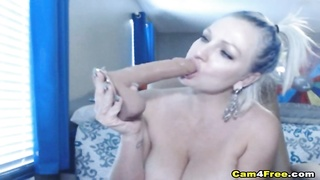300376Horny MILF With Huge Boobs Solo Masturbation