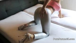 Homemade anal scene
