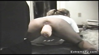 301250Tight twat if a huge-titted Extreme Ty banged by a big fake penis