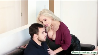 301359Booby blonde MILF fucked by her stepson
