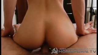 Horny brown haired sweetie screws with a tanned girl