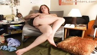 301883Up To Date redhead Michelle R reveals her furry muff