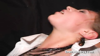 Amazingly awesome made a mistake blond is swallowing a mouthwatering hard pricks
