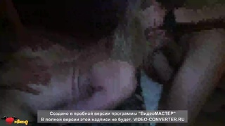 Huge-chested Russian blond and 2 amazing as get laid men in exactly the rookie 3some