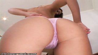 Truthfully lusty and slender brown-haired reveals off her ideal rear entrance