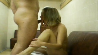Skinny young hotty is devouring and gobbling down a yummy hard pole