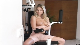 Big-titted blond at precisely the workout in precisely the flick by exactly the ALS Angels