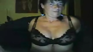303974Old huge boob lady masturbates with dildo on webcam -Hostelcams.com