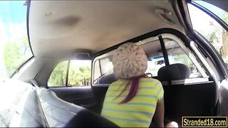Naughty teen Aidra Fox fucked by officer