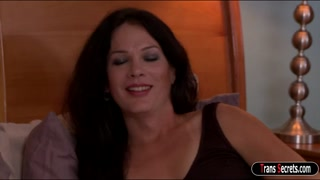Tgirl Gina Hart anal fucking her lover